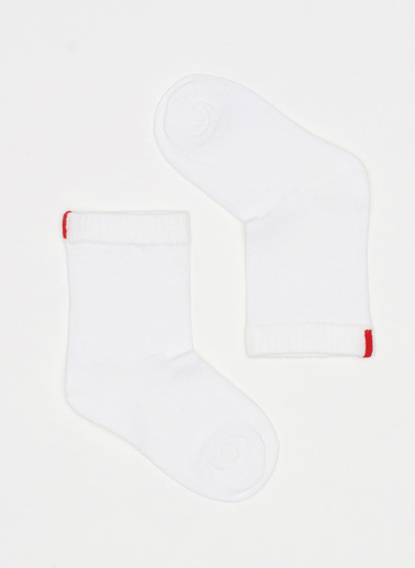 Katia & Bony Family Yazlık Çocuk Soket Çorap  Beyaz